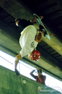 Danny Webster ruling at the Crystal Palace Jam 1984