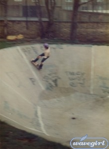 "Tackling the infamous ""A"" Run in 1981. Note the filler job on the transition."