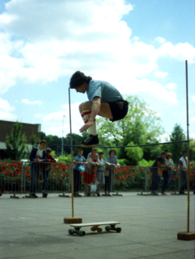 Shane O'Brien in his early highjump period.